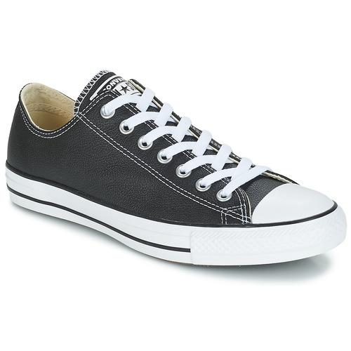 Zapatos especiales para hombres y mujeres Converse CT CORE LEA OX Negro