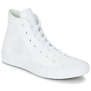 Zapatos Mujer Zapatillas altas Converse CHUCK TAYLOR ALL STAR II - HI Blanco / Blanco / Blanco