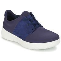 Zapatos Mujer Zapatillas bajas FitFlop SPORTYPOP X SNEAKER Marino