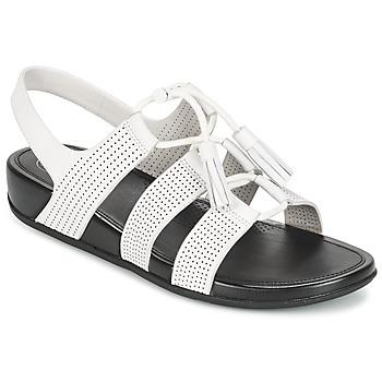 Zapatos Mujer Sandalias FitFlop GLADDIE LACEUP SANDAL Blanco