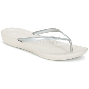 Zapatos Mujer Chanclas FitFlop IQUSHION ERGONOMIC FLIP-FLOPS Plata