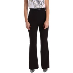 textil Mujer pantalones chinos Denny Rose 64DR12002 Trousers Mujeres Black