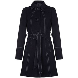 textil Mujer trench Anastasia Anastasia Military Coat For Women Black