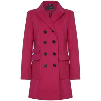 textil Mujer trench Anastasia Anastasia Military Coat For Women Pink