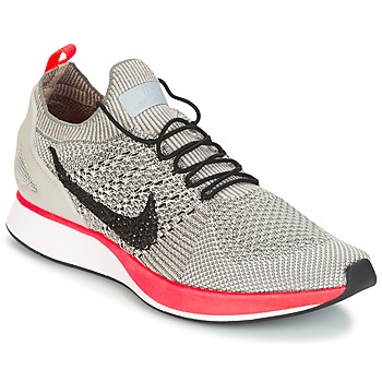 Zapatos Mujer Zapatillas bajas Nike AIR ZOOM MARIAH FLYKNIT RACER PREMIUM W Gris / Rosa
