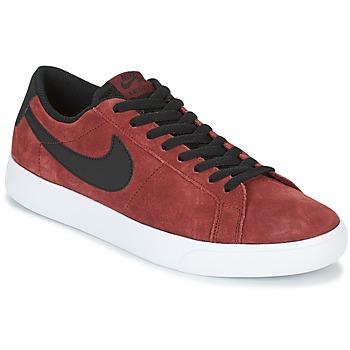 Zapatos Hombre Zapatillas bajas Nike BLAZER VAPOR LOW SB Burdeo / Blanco