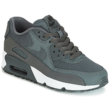 Zapatos Niño Zapatillas bajas Nike AIR MAX 90 MESH GRADE SCHOOL Gris
