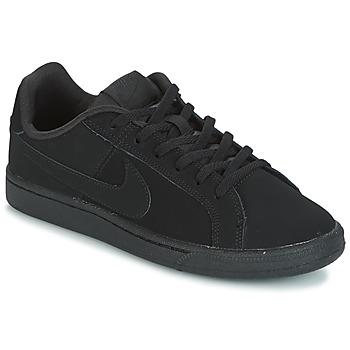 Zapatos Niños Zapatillas bajas Nike COURT ROYALE GRADE SCHOOL Negro