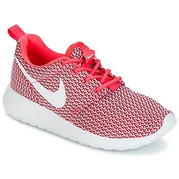 Zapatos Niña Zapatillas bajas Nike ROSHE ONE GRADE SCHOOL Rosa / Blanco