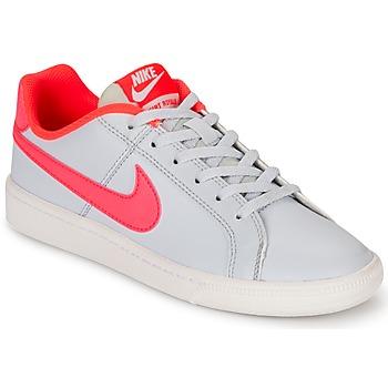 Zapatos Niña Zapatillas bajas Nike COURT ROYALE GRADE SCHOOL Gris / Rosa