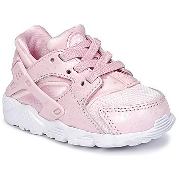 nike huarache niña rosas