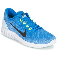 Zapatos Hombre Running / trail Nike LUNARGLIDE 9 Azul