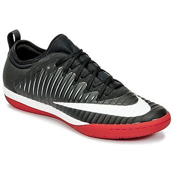 Zapatos Hombre Fútbol Nike MERCURIALX FINALE II IC Negro / Blanco / Rojo