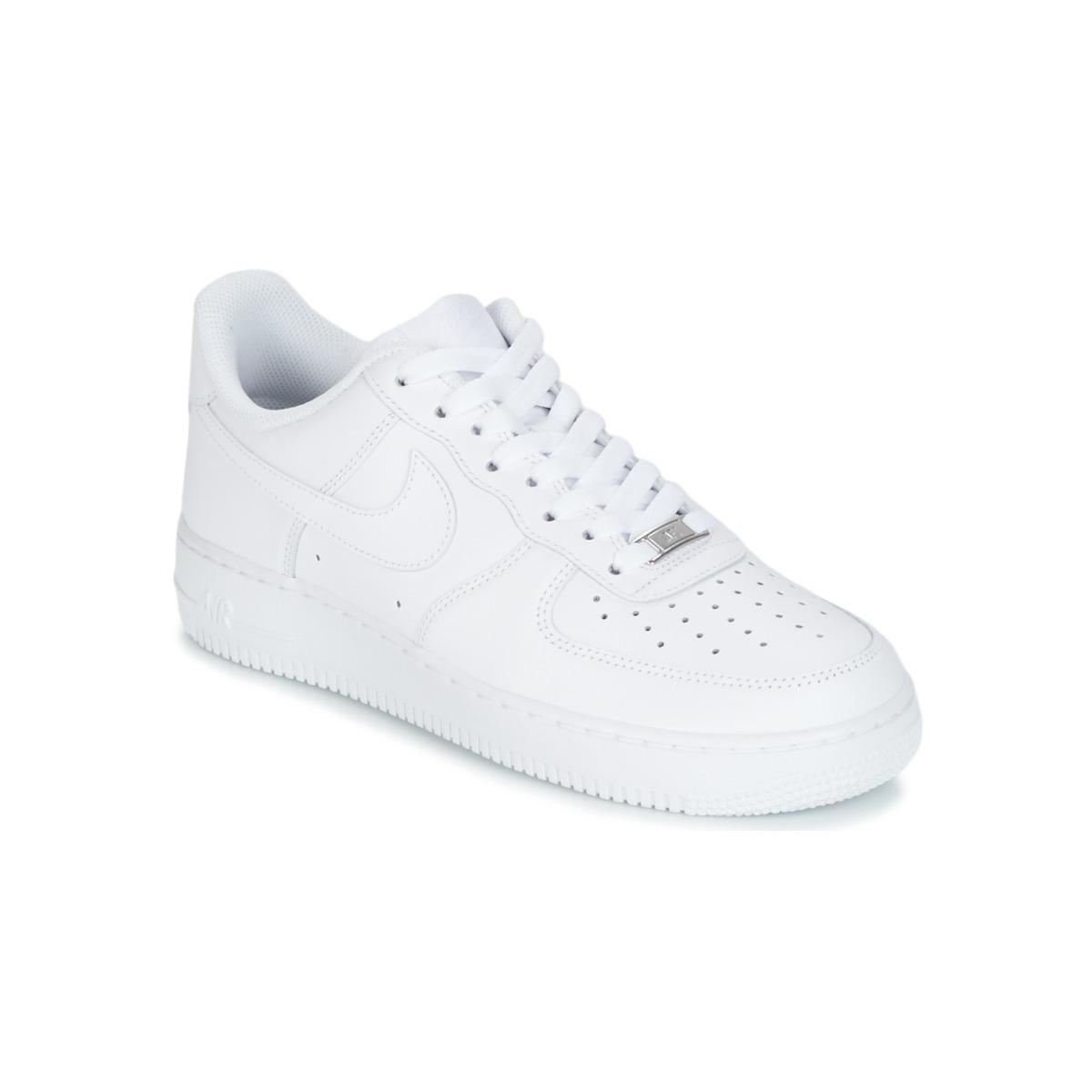 Envío Force es 1 Spartoo Blanco Air Nike 07 Con Gratis Zapatos XSPATq