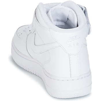 Nike AIR FORCE 1 MID 07 LEATHER Blanco