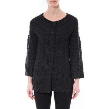 textil Mujer Jerséis De Fil En Aiguille Gilet MaElla Noir AN 141 Negro