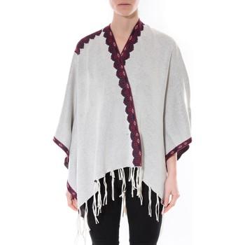 textil Mujer Jerséis De Fil En Aiguille Poncho Senes  Beige  YM 121 Beige