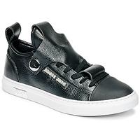 Zapatos Mujer Zapatillas bajas Armani jeans RATONE Negro