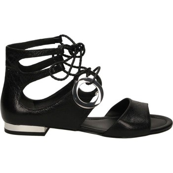 Zapatos Mujer Sandalias What For KID SKIN Negro
