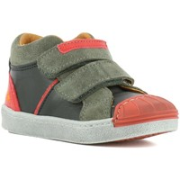 Zapatos Niño Zapatillas altas The Art Company A061 STAR-LUX SUEDE BLACK-GRAFITO / SPLIT Negro