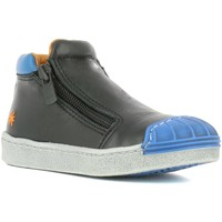 Zapatos Niño Zapatillas altas The Art Company A062 STAR BLACK-REEF / SPLIT Negro