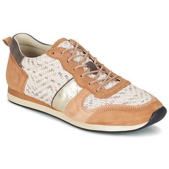 Zapatos Mujer Zapatillas bajas Bocage LANNY COGNAC / Blanco