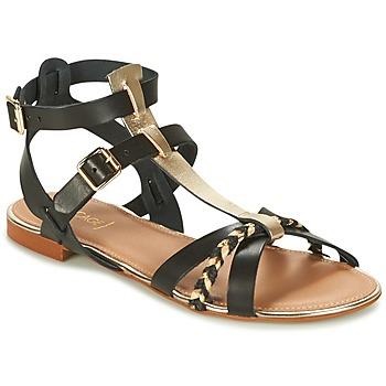 Zapatos Mujer Sandalias Bocage JARET Negro / Oro