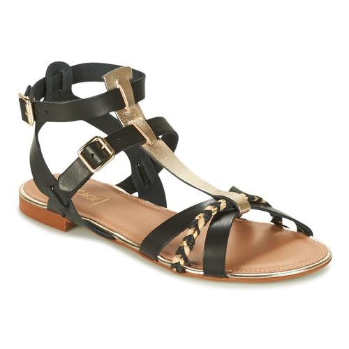 Zapatos de mujer baratos zapatos de mujer Zapatos especiales Bocage JARET Negro / Oro