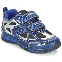 Zapatos Niño Zapatillas bajas Geox J SHUTTLE B. A Marino / Azul