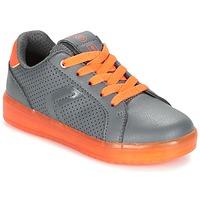 Zapatos Niño Zapatillas bajas Geox J KOMMODOR B.B Gris / Naranja