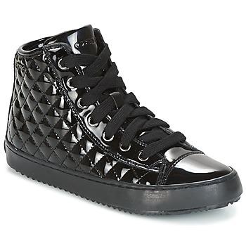 Zapatos Niños Botas de caña baja Geox J KALISPERA G.F Negro