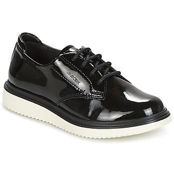Zapatos Niña Derbie Geox J THYMAR G. B Negro