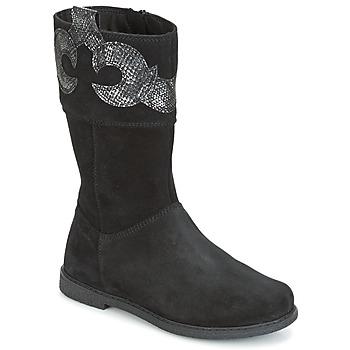 Zapatos Niña Botas urbanas Geox J SHAWNTEL G. C Negro