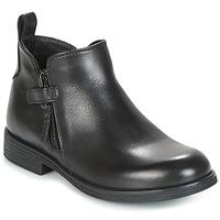 Zapatos Niña Botas de caña baja Geox J AGATA C Negro