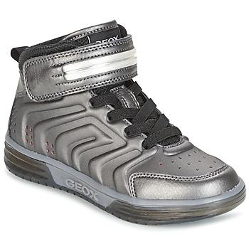 Zapatos Niño Zapatillas altas Geox J ARGONAT B. B Negro