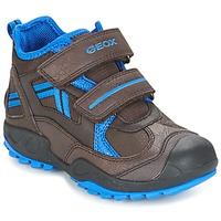 Zapatos Niño Zapatillas bajas Geox J N.SAVAGE B.B Marrón / Azul