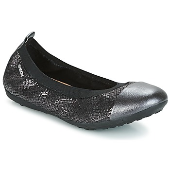 Zapatos Niña Bailarinas-manoletinas Geox J PIUMA BAL B Negro