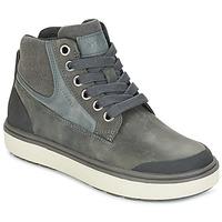 Zapatos Niño Zapatillas altas Geox J MATT.B ABX C Gris