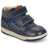 Zapatos Niño Zapatillas altas Geox B NEW FLICK B. A Marino / Azul