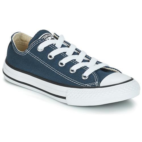 Converse CHUCK TAYLOR ALL STAR CORE OX Marino - Envío gratis | ! - Zapatos Deportivas bajas Nino