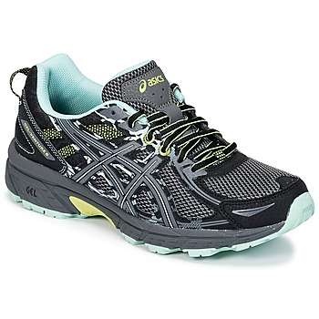 Zapatos Mujer Running / trail Asics GEL-VENTURE 6 Negro / Verde