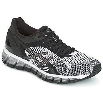 Zapatos Mujer Running / trail Asics GEL-QUANTUM 360 KNIT Negro / Blanco
