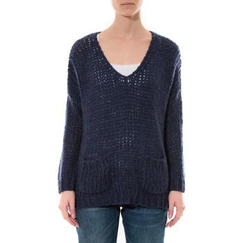 textil Mujer Jerséis De Fil En Aiguille Pull  Senes  Bleu  Ym135 Azul