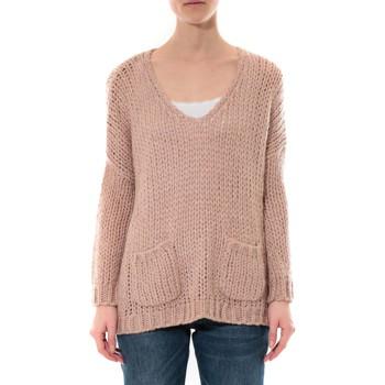 textil Mujer Jerséis De Fil En Aiguille Pull  Senes Rose Ym135 Rosa