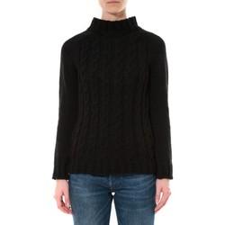 textil Mujer Jerséis De Fil En Aiguille Pull Farfalla Noir Negro