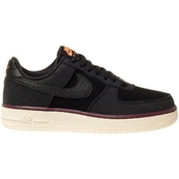 Zapatos Mujer Zapatillas bajas Nike Air Force 1 High 07 Suede Negro