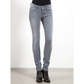 textil Mujer vaqueros slim Fornarina BIR1I87D863WO Jeans Mujeres Gris Gris