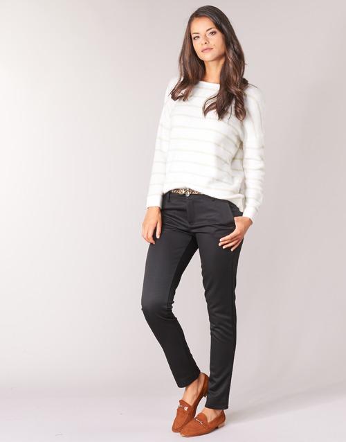 Textil Betty Mujer Pantalones Igribano Con 5 Bolsillos London Negro EDH2IeYW9