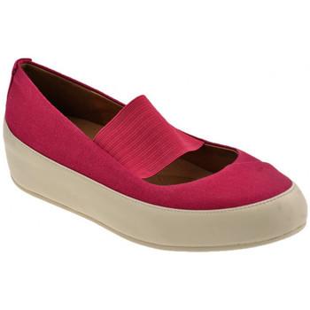 Zapatos Mujer Bailarinas-manoletinas FitFlop  Rojo