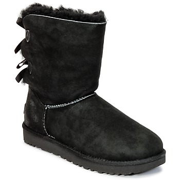 Zapatos Mujer Botas de caña baja UGG BAILEY BOW II Negro